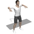 Shoulder Flexion, Standing