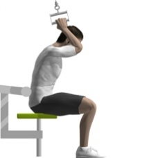 Cable Crunch, Seated Starting Position