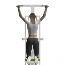Sled Pull-up, Assisted Starting Position