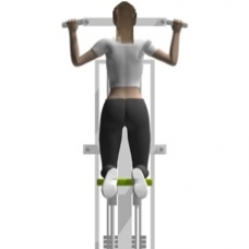 Pull Up Assisted Sled Exercise Strength Training