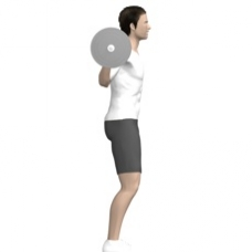 Barbell Squat Starting Position