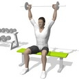 Behind Neck Press, Seated