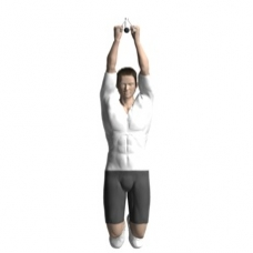 Bodyweight Only Pull-up, V-Grip Starting Position