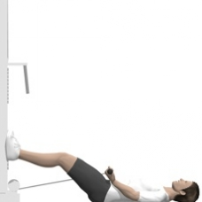 Cable Curl, Supine Starting Position