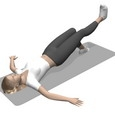 Bridge, Supine, Leg Extension