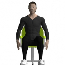 Chair Shoulder Circling Starting Position