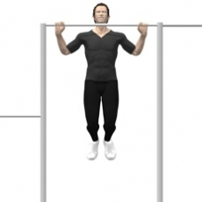 Monkeybars Pull-up Ending Position