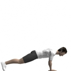 Mat Push-up, Diamond Starting Position