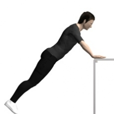 Table Push-up, Incline Starting Position
