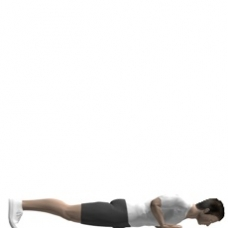 Mat Push-up, Diamond Ending Position