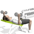 Bench Press, Incline, Rotation