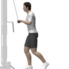 Cable Pushdown Starting Position