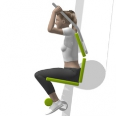 Lever Crunch, Seated Starting Position