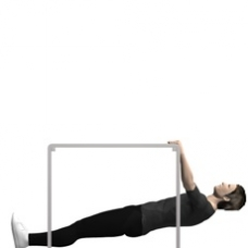 Table Row, Bodyweight Starting Position