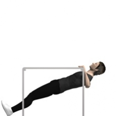 Table Row, Bodyweight Ending Position
