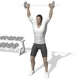 Behind Neck Press, Standing
