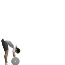 Barbell Roll-out, Standing Starting Position