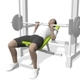 Close Grip Bench Press, Incline