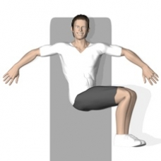 Mat Twist, Lying Ending Position