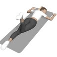 Hip Extension, Prone, One Leg