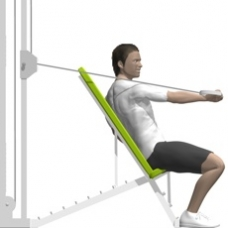 Cable Chest Press, One Arm, Twist Ending Position