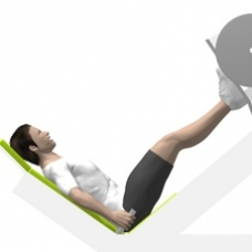 Sled Leg Press 45° Starting Position