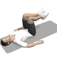Hip Flexion, Supine, Bent Legs
