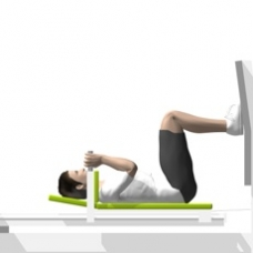 Sled Leg Press Starting Position