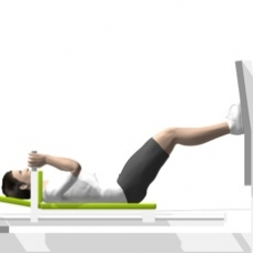 Sled Leg Press Ending Position