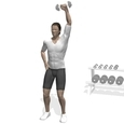 Shoulder Press, Standing, One Arm