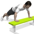 Push-up, Incline