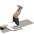 Hip Flexion, Supine, Straight Legs