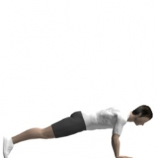 Mat Push-up, Close Starting Position