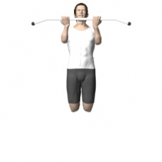 Bodyweight Only Chin-up Ending Position