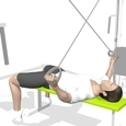 Rear Lateral Raise, Supine