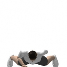 Mat Push-up, One Arm Ending Position