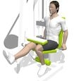 Leg Curl, Seated, Single Leg